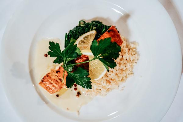 Kornhauskeller Bern Salmon