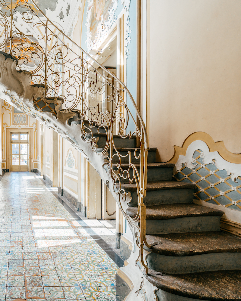 Catania Palazzo Biscari Scala