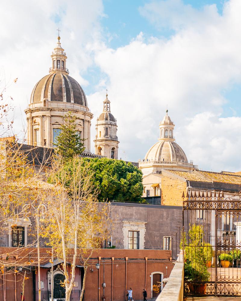 Catania Palazzo Biscari Vista
