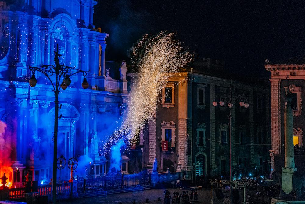 Festa di Sant'Agata 2018 Fuochi