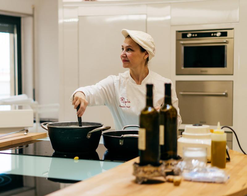 Myda Scuola di Cucina Catania Chef Loredana Crisafi