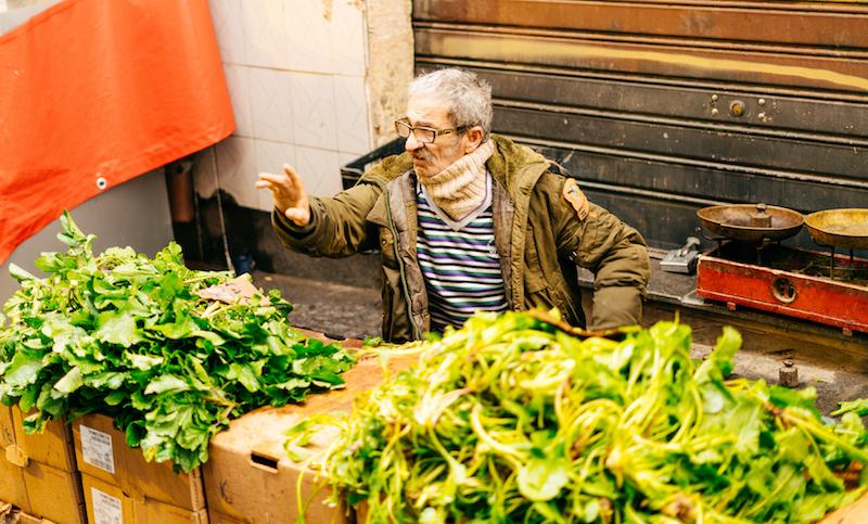 Streaty Food Tour Catania Mercato Verdure