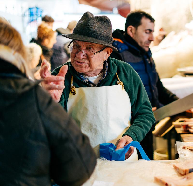 Streaty Food Tour Catania Mercato del Pesce Market