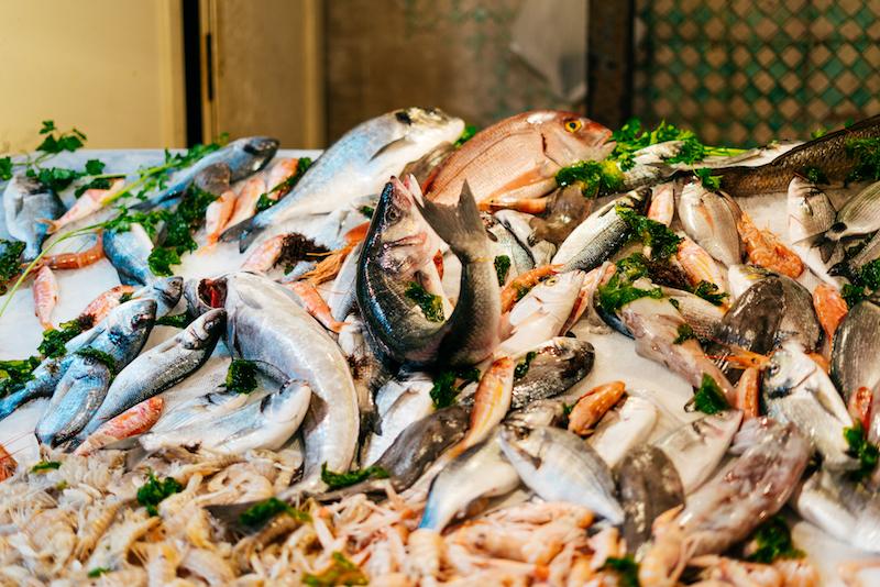 Streaty Food Tour Catania Pesce Fresco