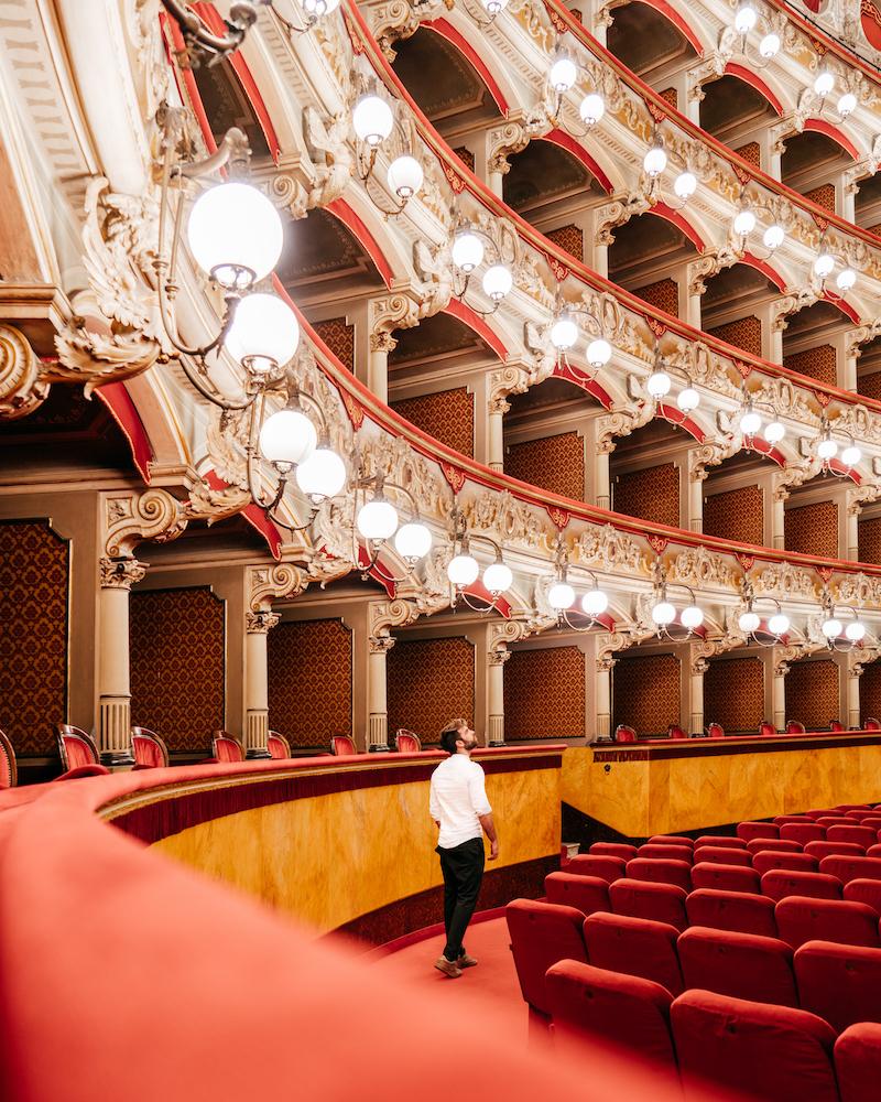 TheRerumNatura Catania Teatro Bellini #MyAgathaExperience