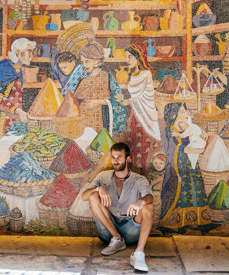 Mosaici lungo il Cardo - Gerusalemme