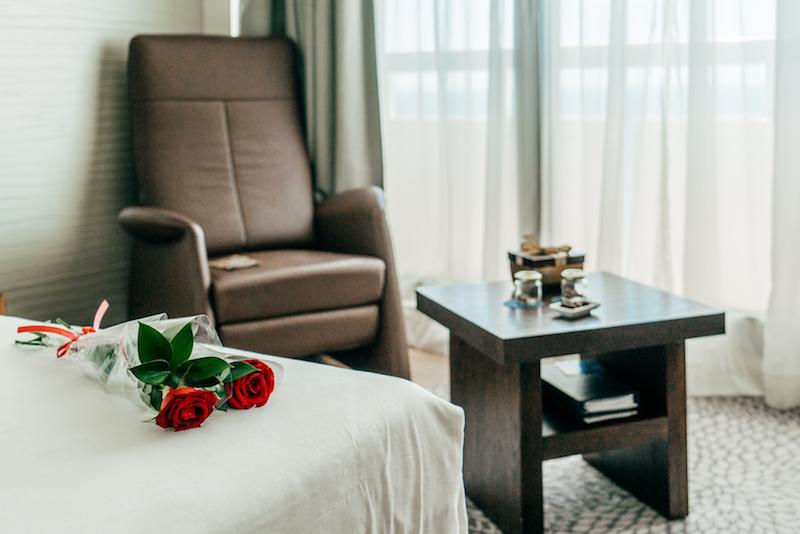 La stanza allo Sheraton Tel Aviv - Rose
