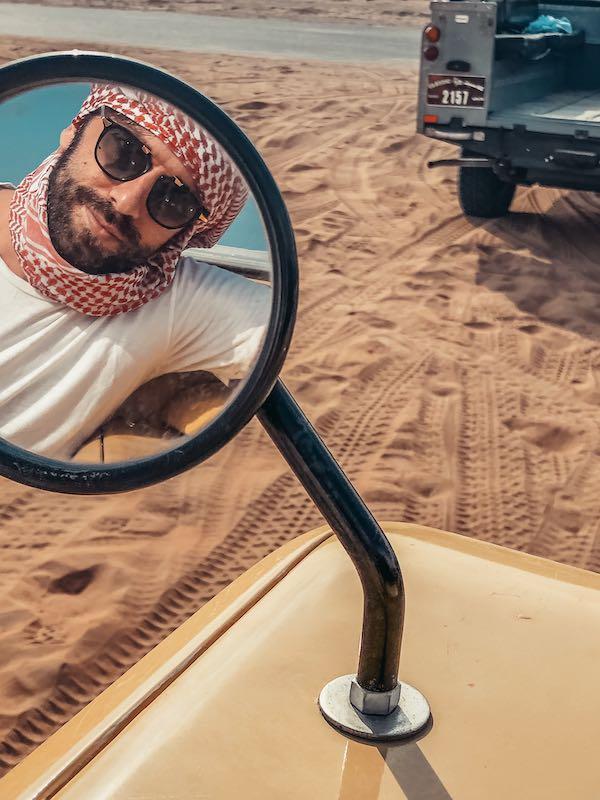 Gianluca Fazio TheRerumNatura Selfie Dubai Cosa Vedere 10 cose da fare a Dubai