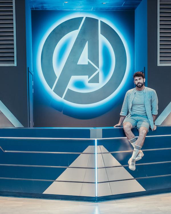 Gianluca Fazio TheRerumNatura Marvel Avengers IMG Worlds Dubai