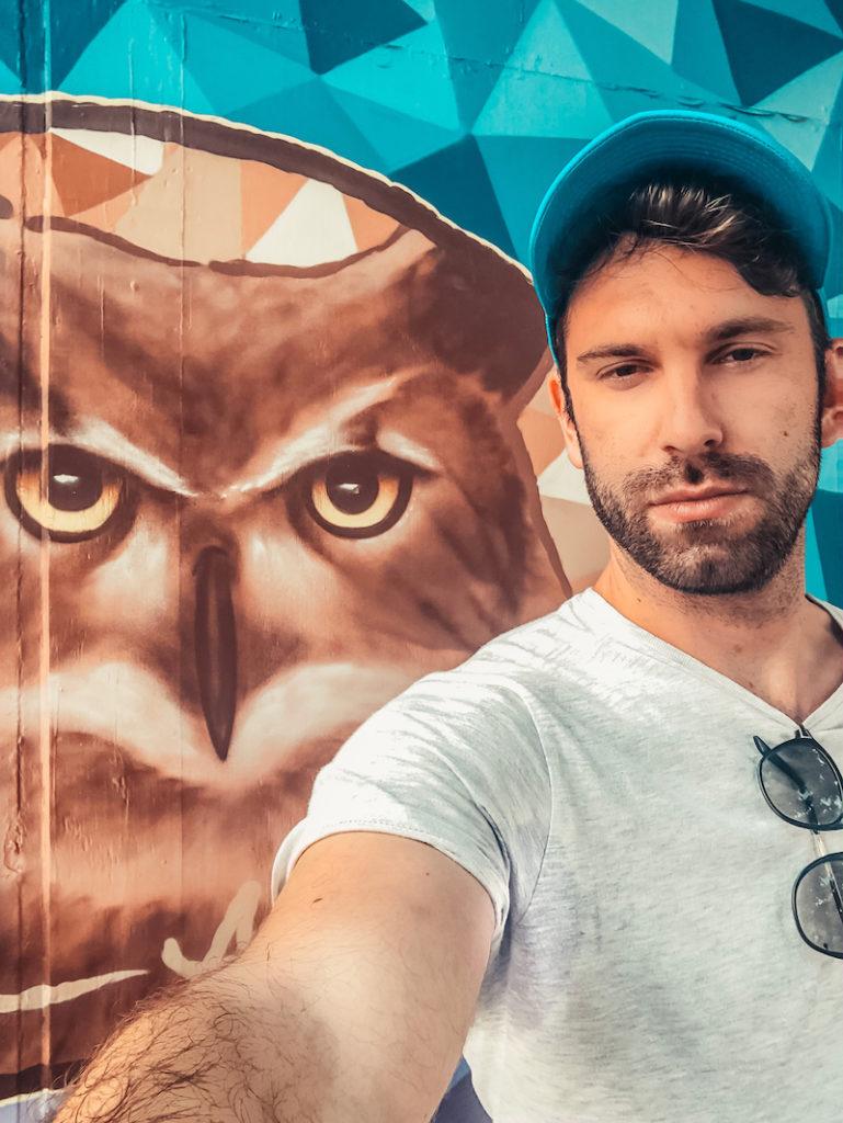 Gianluca Fazio TheRerumNatura Street Art Sint Nicolaas Aruba-1