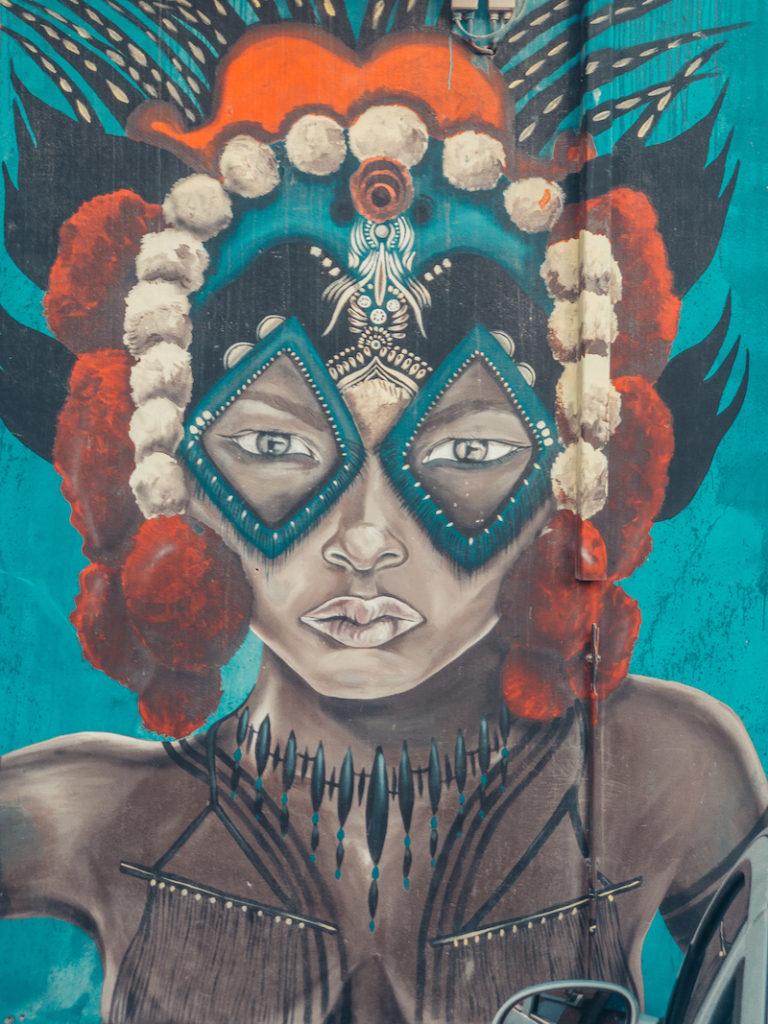 Street Art Sint Nicolaas Aruba