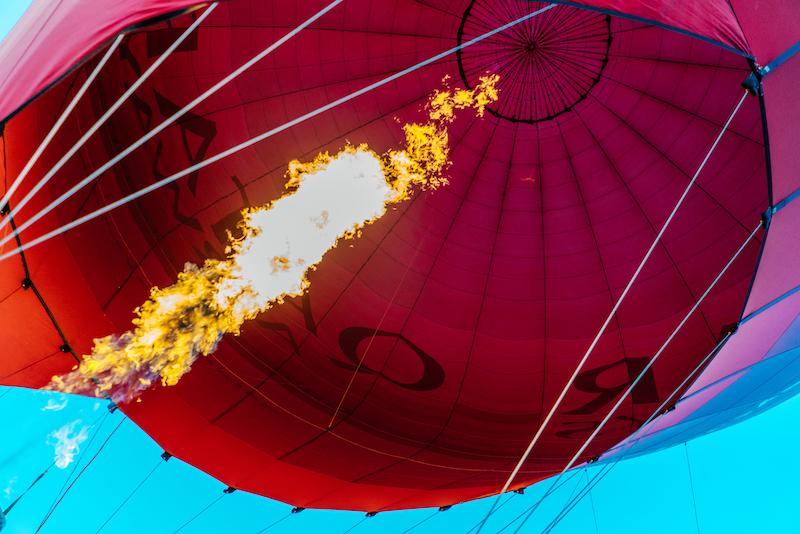 Balloon Aloft Canberra Fuoco australia