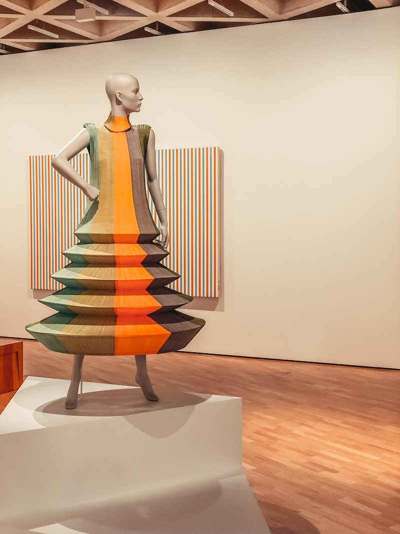 National Gallery Canberra Issey Miyake Dress