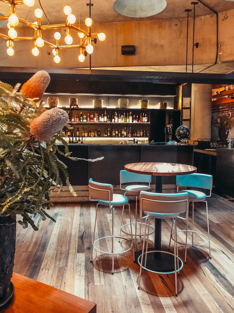 Ovolo Nishi Hotel Canberra Bar Details