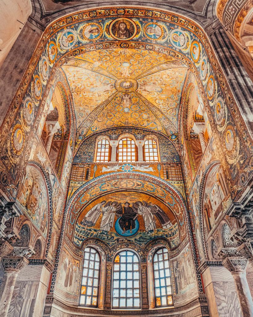 Basilica San Vitale Ravenna Mosaici
