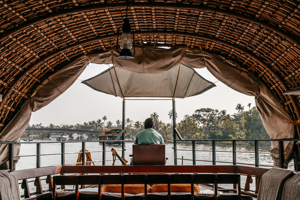 Alleppey - Houseboat - Casa galleggiante India