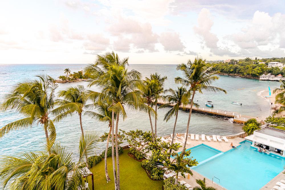 Couples Tower Isle Jamaica Ocho Rios Giamaica Vista dalla stanza view